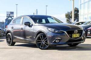 2013 Mazda 3 BM5436 SP25 SKYACTIV-MT Astina Meteor Grey 6 Speed Manual Hatchback Kirrawee Sutherland Area Preview