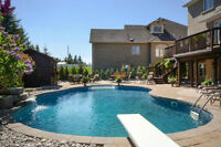 South Aurora 5 beds/5 baths/self contained suite/pool/hot tub