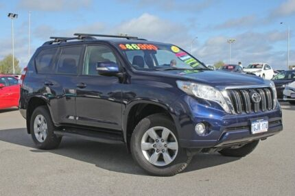 2014 Toyota Landcruiser Prado KDJ150R MY14 GXL Dynamic Blue 5 Speed Sports Automatic Wagon