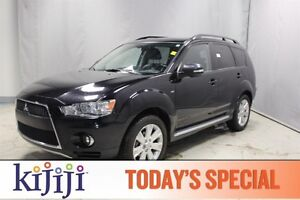 2011 Mitsubishi Outlander AWC XLS Accident Free,  Leather,  Heat
