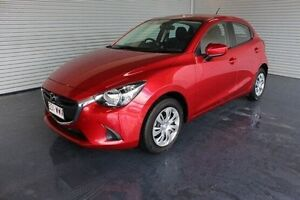 2015 Mazda 2 DJ2HA6 Maxx SKYACTIV-MT Red 6 Speed Manual Hatchback Parramatta Park Cairns City Preview