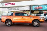 2016 Ford Ranger PX MkII Wildtrak Double Cab Pride Orange 6 Speed Sports Automatic Utility Wangara Wanneroo Area Preview