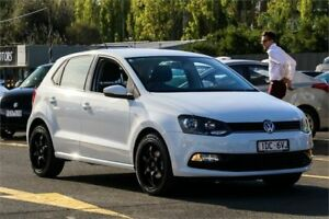 2015 Volkswagen Polo 6R MY15 66TSI DSG Trendline White 7 Speed Sports Automatic Dual Clutch Ringwood East Maroondah Area Preview