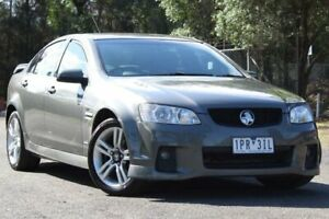 2011 Holden Commodore VE II SV6 Grey 6 Speed Manual Sedan Lansvale Liverpool Area Preview