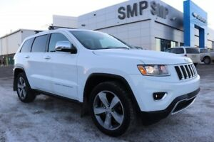 2014 Jeep Grand Cherokee Limited- Htd.Leather, SRoof, RStart & B