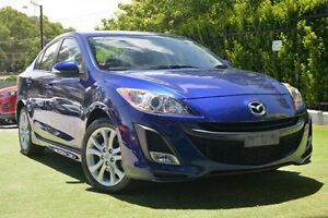 2009 Mazda 3 BL10L1 SP25 Activematic Blue 5 Speed Sports Automatic Sedan Paradise Campbelltown Area Preview