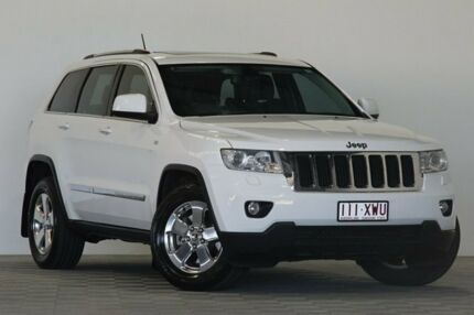 2012 Jeep Grand Cherokee WK MY13 Laredo (4x4) White 5 Speed Automatic Wagon Coopers Plains Brisbane South West Preview