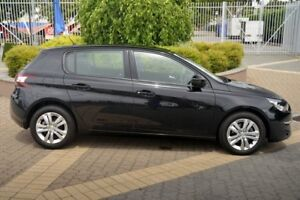 2016 Peugeot 308 T9 Active Black 6 Speed Sports Automatic Hatchback
