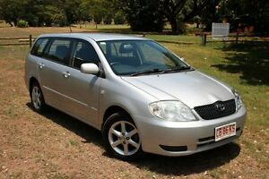 2003 Toyota Corolla ZZE122R Conquest Magnetic Silver 4 Speed Automatic Wagon The Gardens Darwin City Preview