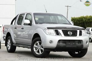 2012 Nissan Navara D40 S5 MY12 ST-X 550 Silver 7 Speed Sports Automatic Utility Moorooka Brisbane South West Preview