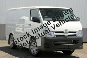 2010 Toyota HiAce TRH201R MY11 Upgrade LWB White 4 Speed Automatic Van Five Dock Canada Bay Area Preview