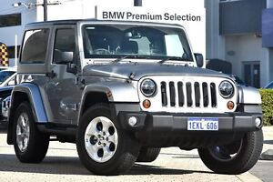 2013 Jeep Wrangler JK MY2014 Overland Silver 5 Speed Automatic Hardtop Victoria Park Victoria Park Area Preview