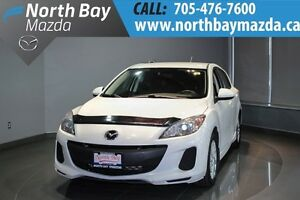 2013 Mazda Mazda3 GS-SKY 6 Speed Manual + Remote Start + Bluetoo