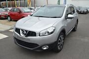 2013 Nissan Dualis J107 Series 4 MY13 +2 Hatch X-tronic 2WD Ti-L Silver 6 Speed Constant Variable Hoppers Crossing Wyndham Area Preview
