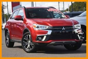 2018 Mitsubishi ASX XC MY18 LS 2WD Red/Black 6 Speed Constant Variable Wagon