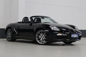 2006 Porsche Boxster 987 MY07 Black 5 Speed Manual Roadster Bentley Canning Area Preview