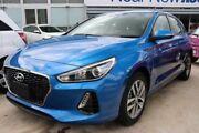 2017 Hyundai i30 PD MY18 Active Marina Blue 6 Speed Sports Automatic Hatchback Slacks Creek Logan Area Preview