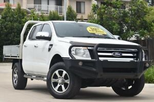 2012 Ford Ranger PX XLT Double Cab White 6 Speed Manual Utility Toowoomba Toowoomba City Preview