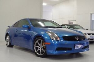 2003 Nissan Skyline V35 350GT Blue 6 Speed Manual Coupe Myaree Melville Area Preview