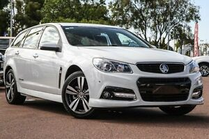 2015 Holden Commodore VF MY15 SV6 Sportwagon Storm White 6 Speed Sports Automatic Wagon Wilson Canning Area Preview