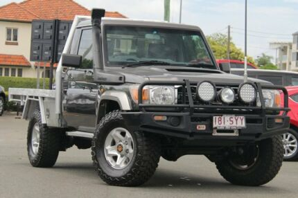 2013 Toyota Landcruiser VDJ79R MY13 GXL Grey 5 Speed Manual Cab Chassis Nundah Brisbane North East Preview