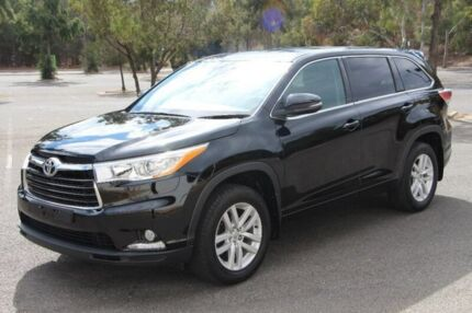 2014 Toyota Kluger GSU50R GX 2WD Black 6 Speed Sports Automatic Wagon Nailsworth Prospect Area Preview