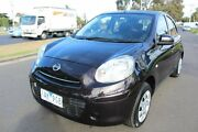 2013 Nissan Micra K13 MY13 ST Black 4 Speed Automatic Hatchback Tottenham Maribyrnong Area Preview