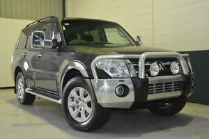 2012 Mitsubishi Pajero NW MY12 Platinum Grey 5 Speed Sports Automatic Wagon Blair Athol Port Adelaide Area Preview
