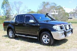 2007 Nissan Navara D40 ST-X Black 5 Speed Automatic Utility Ormeau Gold Coast North Preview