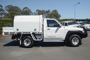 2013 Nissan Patrol Y61 GU 6 SII MY13 DX White 5 Speed Manual Cab Chassis Acacia Ridge Brisbane South West Preview