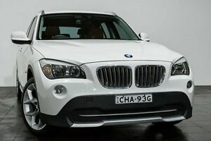 2010 BMW X1 E84 MY11 xDrive23d Steptronic White 6 Speed Sports Automatic Wagon Rozelle Leichhardt Area Preview