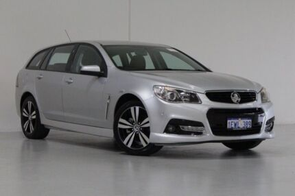 2015 Holden Commodore VF MY15 SV6 Storm Silver 6 Speed Automatic Sportswagon Bentley Canning Area Preview