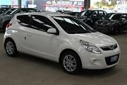 2012 Hyundai i20 PB MY12 Active White 5 Speed Manual Hatchback Cannington Canning Area Preview