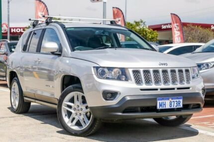 2013 Jeep Compass MK MY14 Limited Silver 6 Speed Sports Automatic Wagon Victoria Park Victoria Park Area Preview