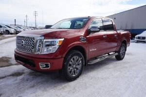 2017 Nissan Titan 4X4 PLATINUM RESERVE Heated/Cooled Leather Sea