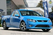 2010 Ford Falcon FG XR6 Ute Super Cab 50th Anniversary Blue 6 Speed Sports Automatic Utility Glendalough Stirling Area Preview