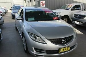 2009 Mazda 6 GH MY09 Classic Silver 5 Speed Auto Activematic Sedan Mitchell Gungahlin Area Preview