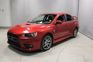 2012 Mitsubishi Lancer Evolution AWC EVOLUTION GSR Heated Seats,