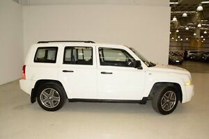 2009 Jeep Patriot MK MY2010 Sport White 5 Speed Manual Wagon Edgewater Joondalup Area Preview
