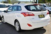2013 Hyundai i30 GD Active Tourer White 6 Speed Manual Wagon Gosford Gosford Area Preview