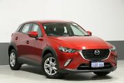 2018 Mazda CX-3 DK MY17.5 Maxx (FWD) Red 6 Speed Automatic Wagon Bentley Canning Area Preview