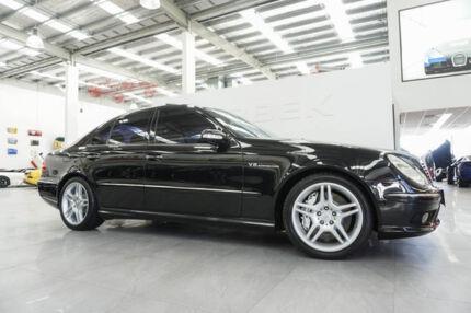 2003 Mercedes-Benz E55 211 AMG Black 5 Speed Auto Touchshift Sedan Port Melbourne Port Phillip Preview