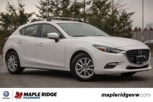 2018 Mazda Mazda3 Sport TOUR ONE OWNER, NO ACCIDENTS, BC CAR!