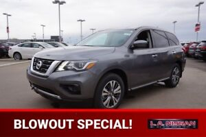 2018 Nissan Pathfinder S V6 BACK UP CAM, BLUETOOTH, PUSH START,