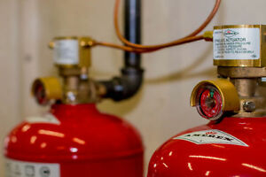 Paint Booth Fire Suppression Systems Dry Chemical