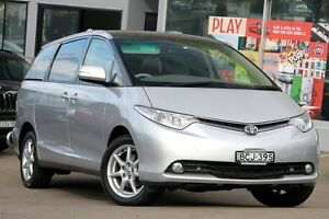 2007 Toyota Tarago GSR50R Ultima Silver 6 Speed Sports Automatic Wagon Dee Why Manly Area Preview