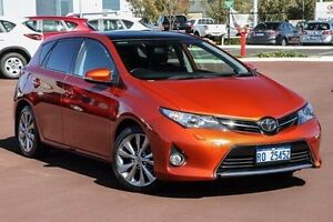 2013 Toyota Corolla ZRE182R Levin S-CVT ZR Orange 7 Speed Constant Variable Hatchback East Rockingham Rockingham Area Preview