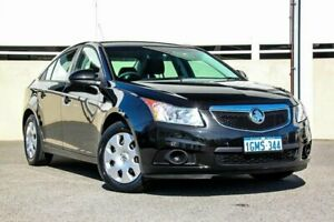 2013 Holden Cruze JH MY13 CD Black 6 Speed Automatic Sedan Cannington Canning Area Preview