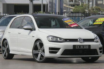 2015 Volkswagen Golf VII MY16 R DSG 4MOTION White 6 Speed Sports Automatic Dual Clutch Hatchback