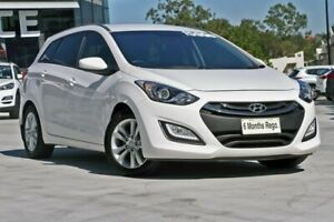 2013 Hyundai i30 GD Active Tourer White 6 Speed Sports Automatic Wagon Hillcrest Logan Area Preview